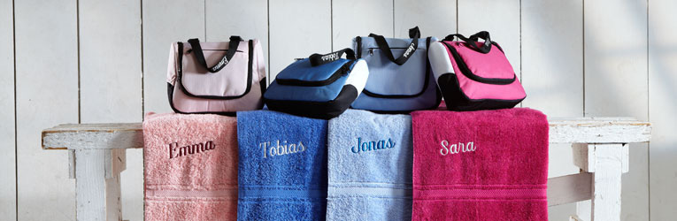 Necessär & Handduk