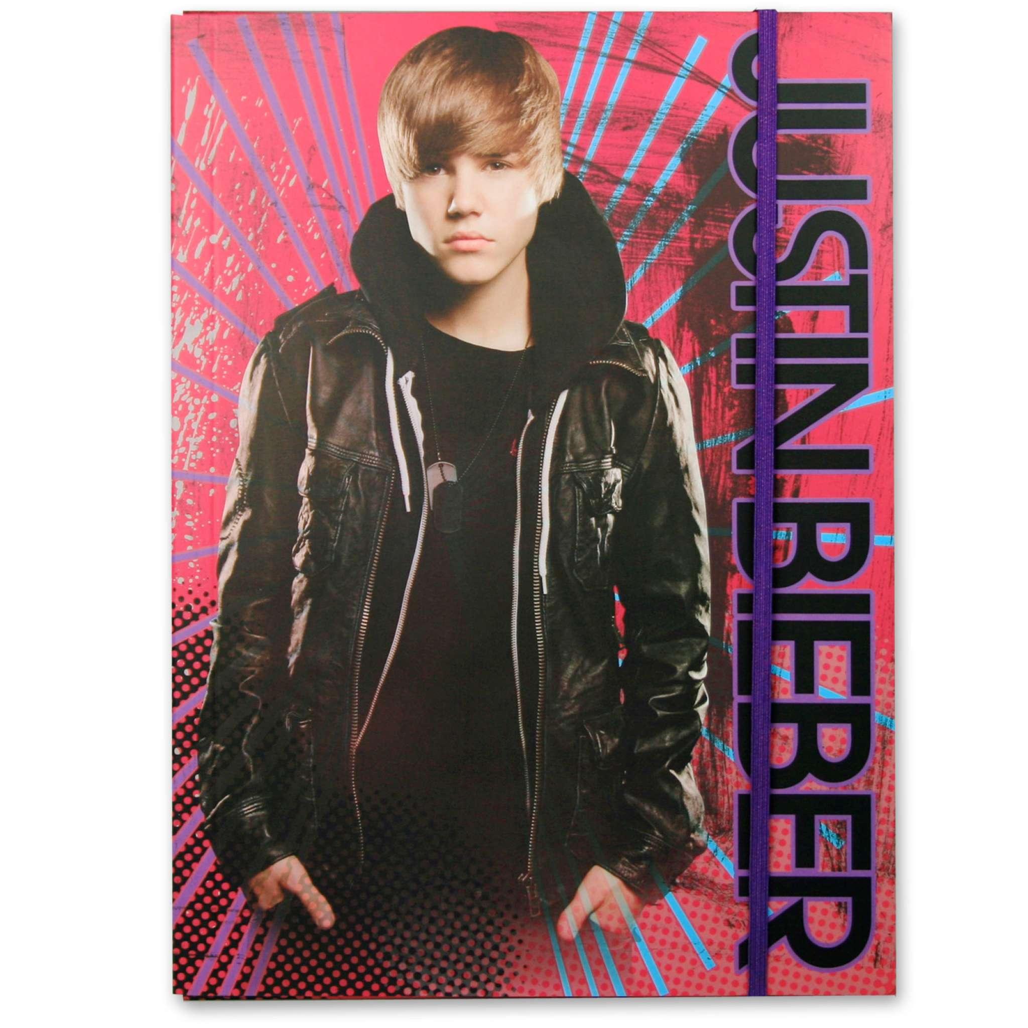 Justin Bieber Gummibandsmapp