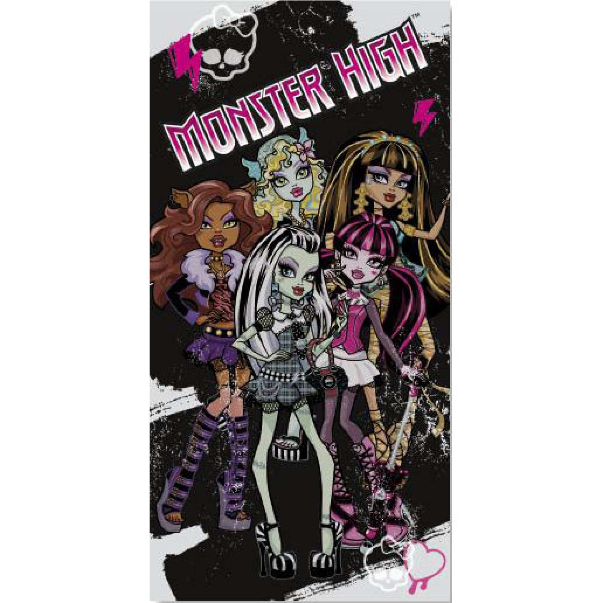 Monster High Badhandduk
