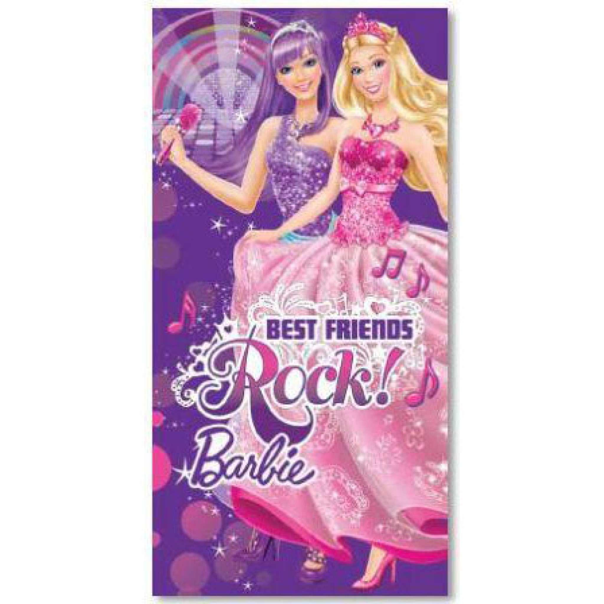 Barbie Rock Badhandduk