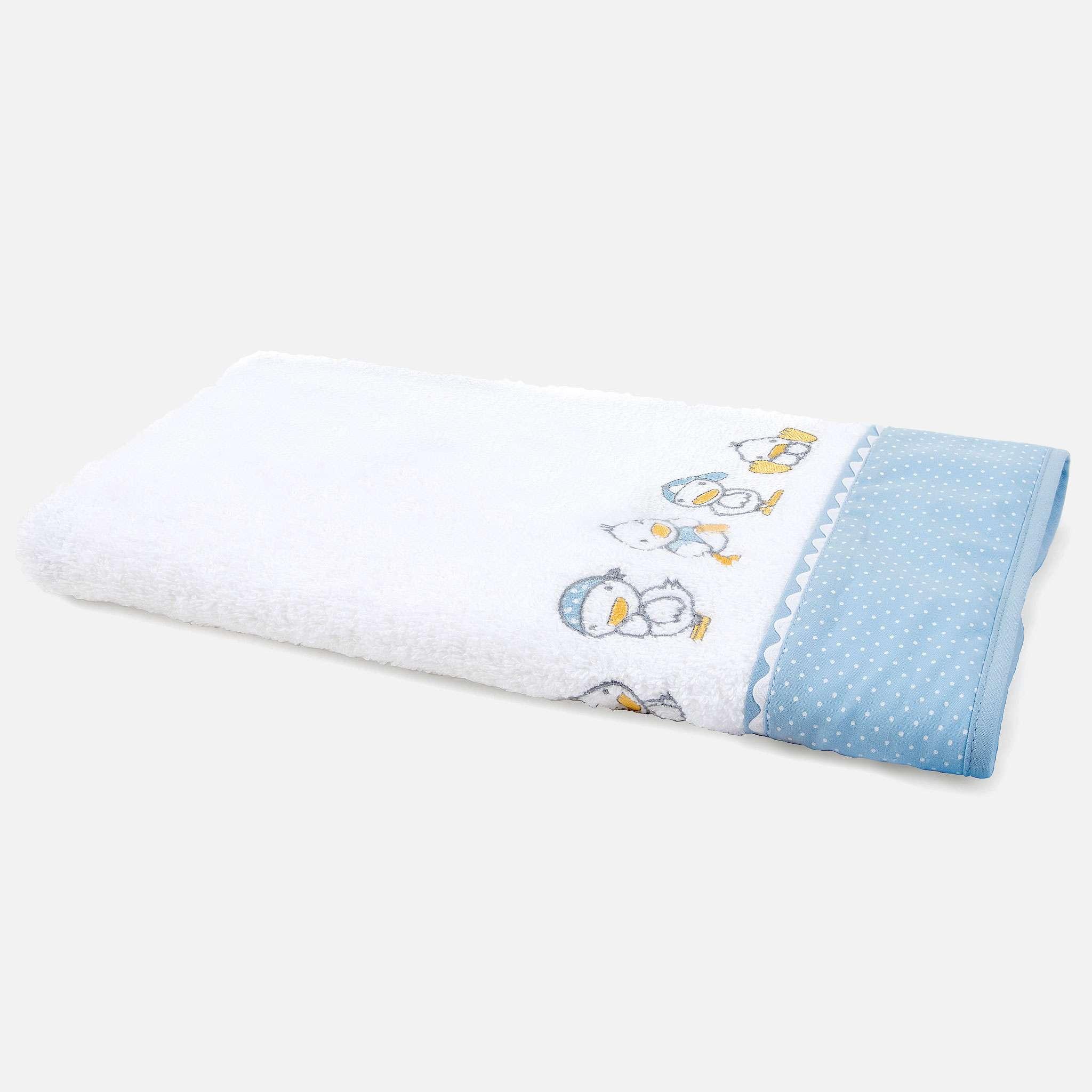 Ducks Blue Handduk 50x100 cm