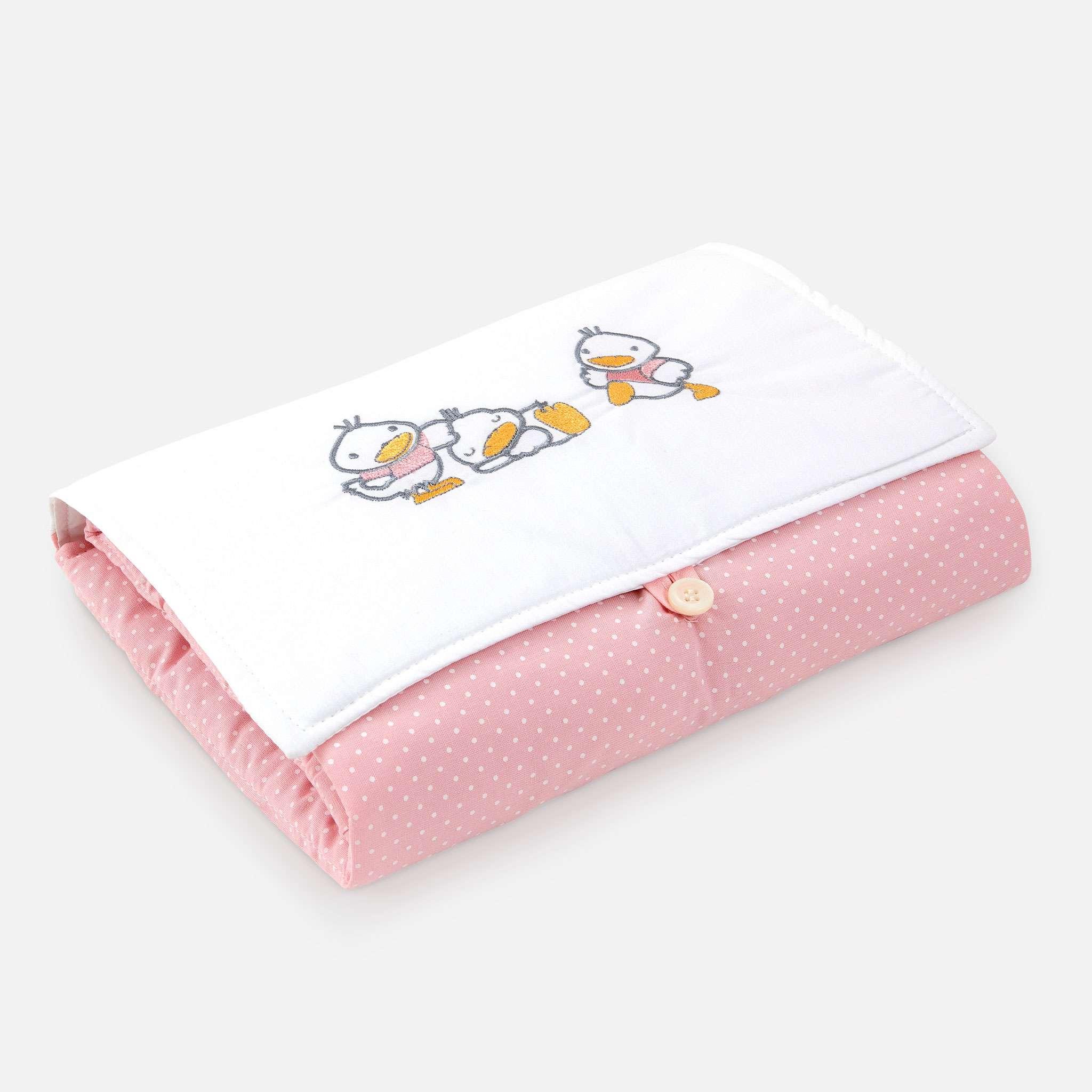 Ducks Pink Skötbordsfilt