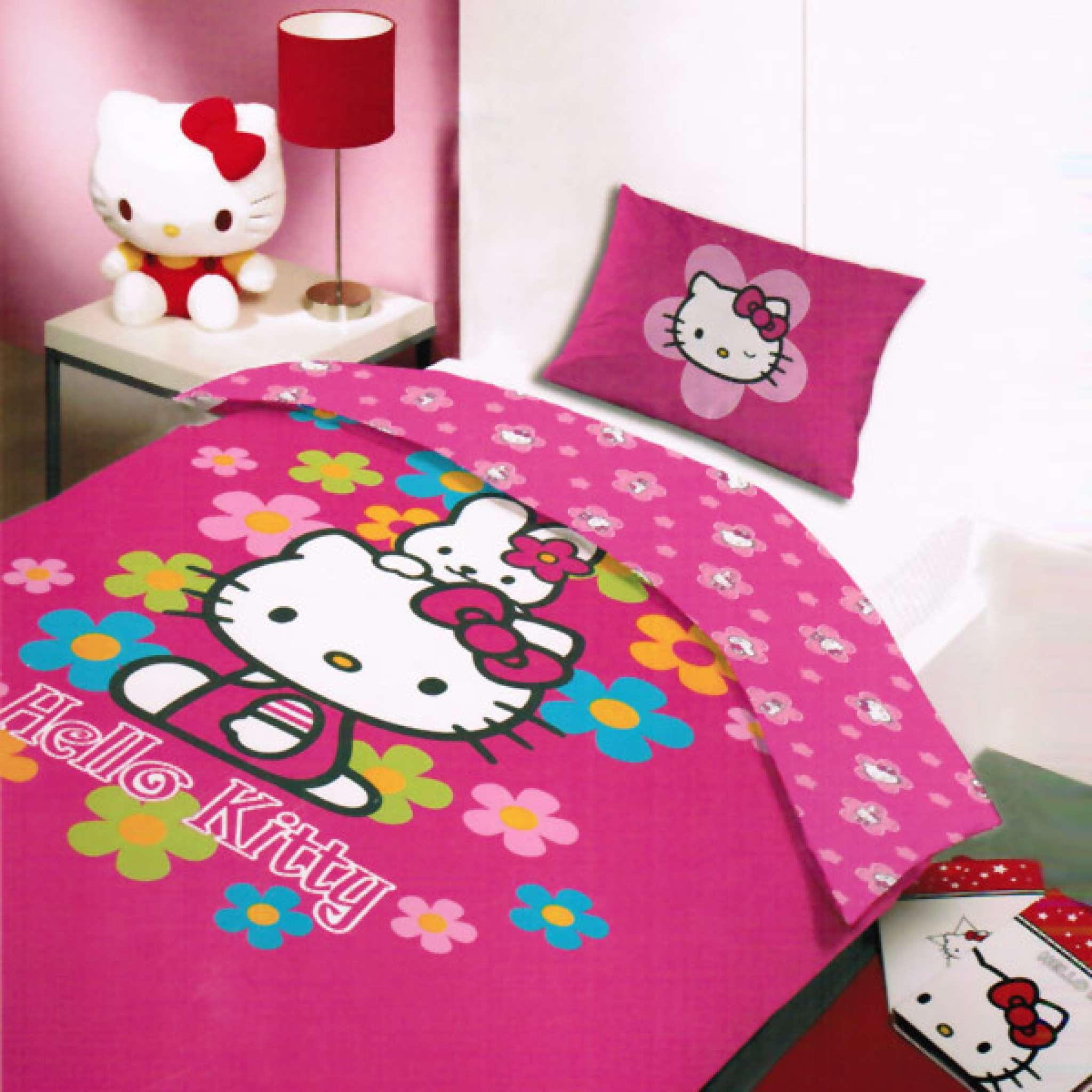 Sängset Hello Kitty