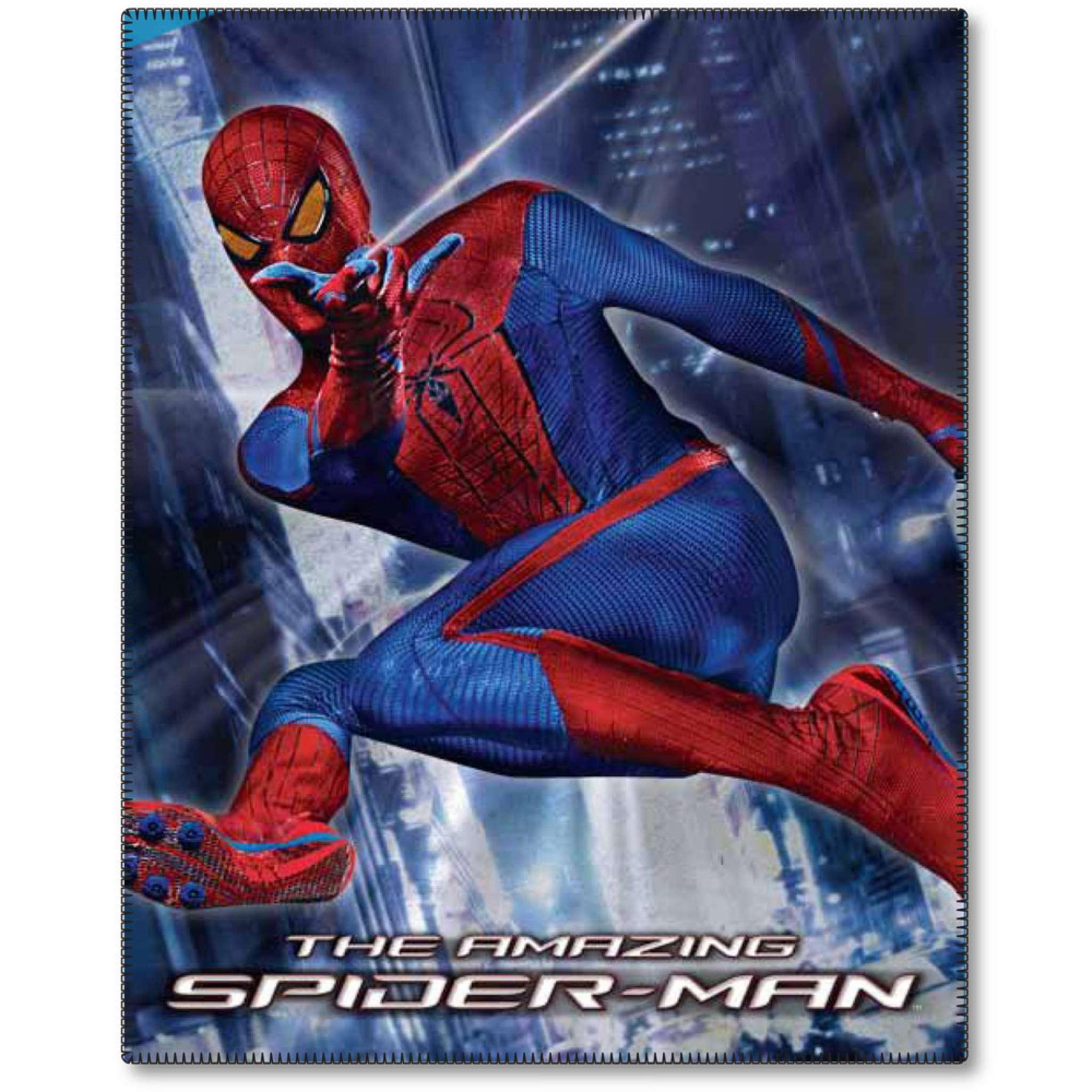 Fleecepläd 120x150,  Spiderman