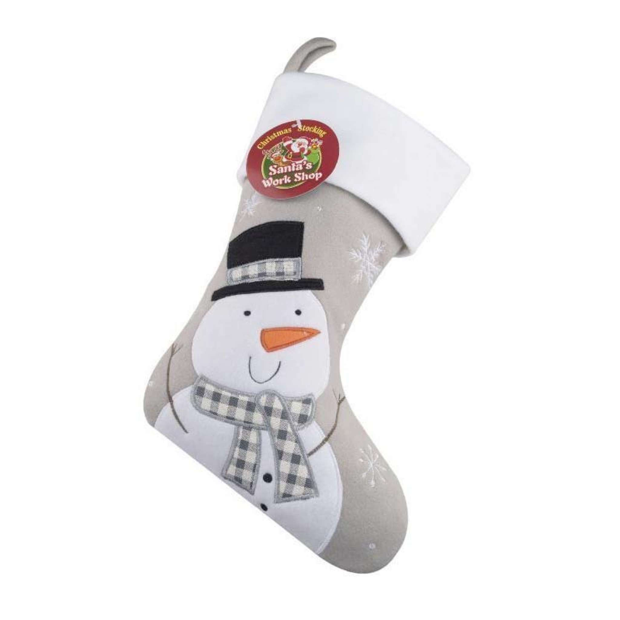 Julstrumpa Premium, Tomte grå