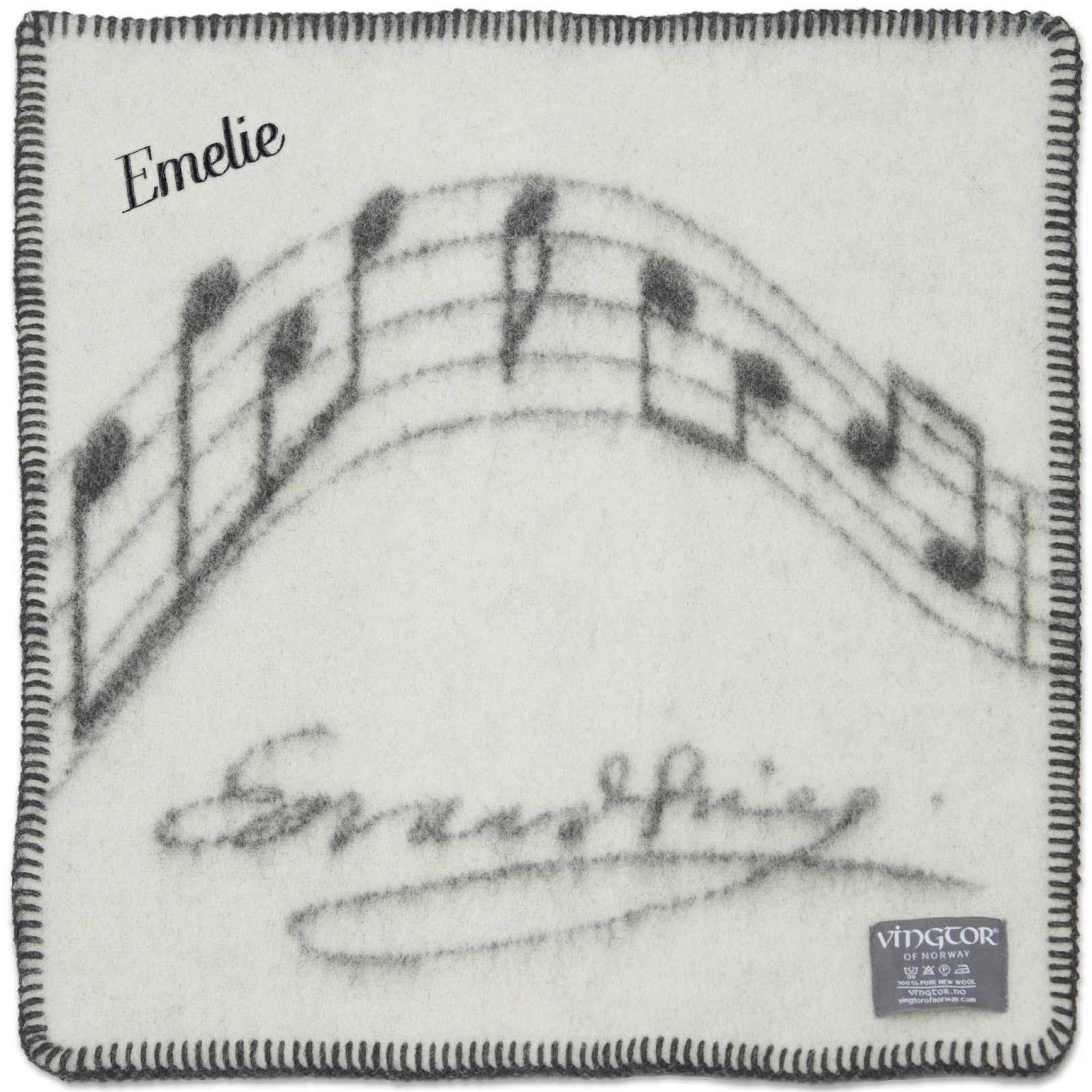 Sittunderlag Vingtor, Grieg