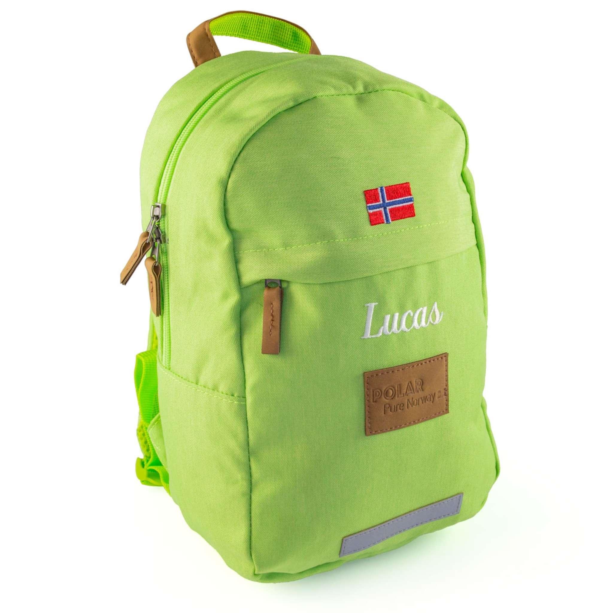 Polar Pure Norway ryggsäck 10 liter, Grön