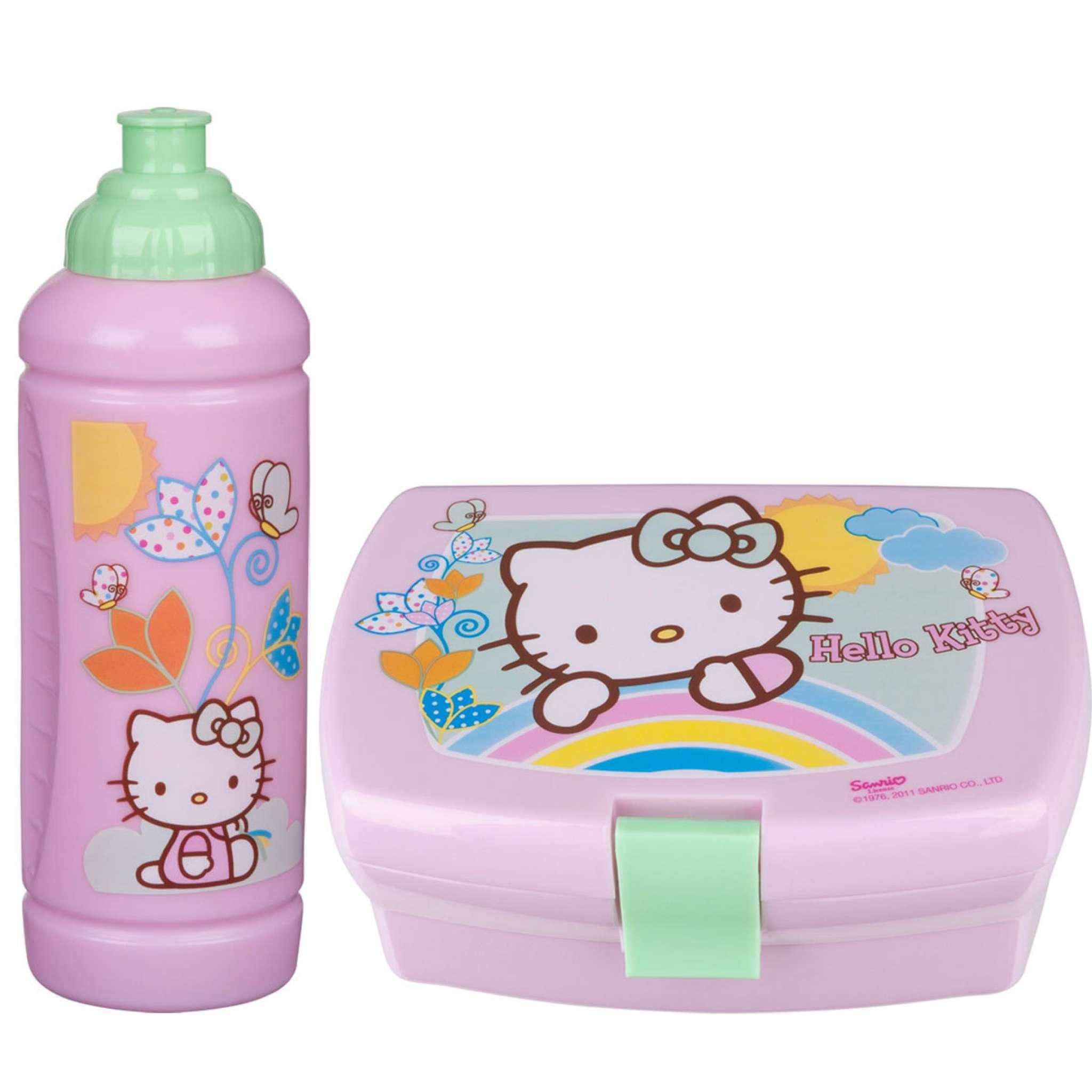 Lunchset Hello Kitty