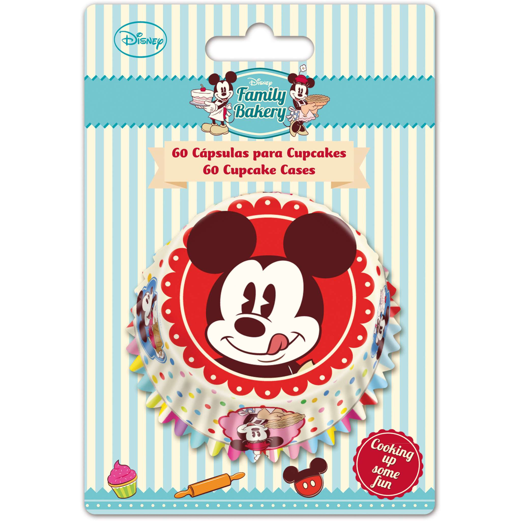 Disney family Bakery Cup Cake formar 60 st.
