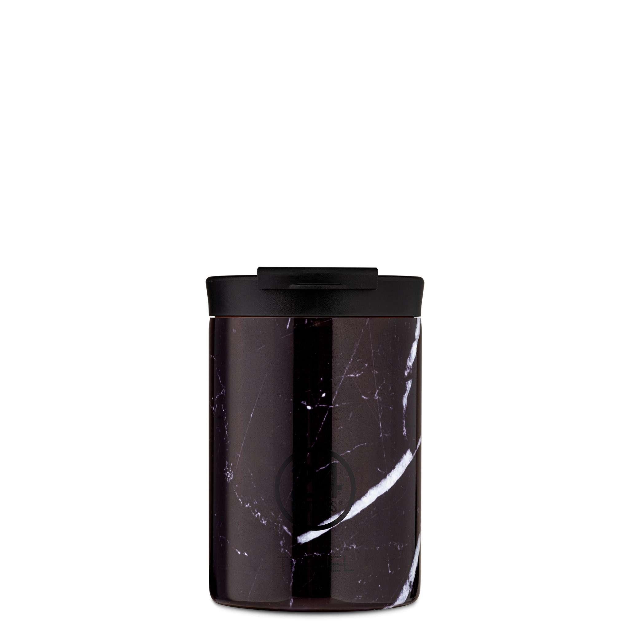 Tumbler 350ml Black Marble