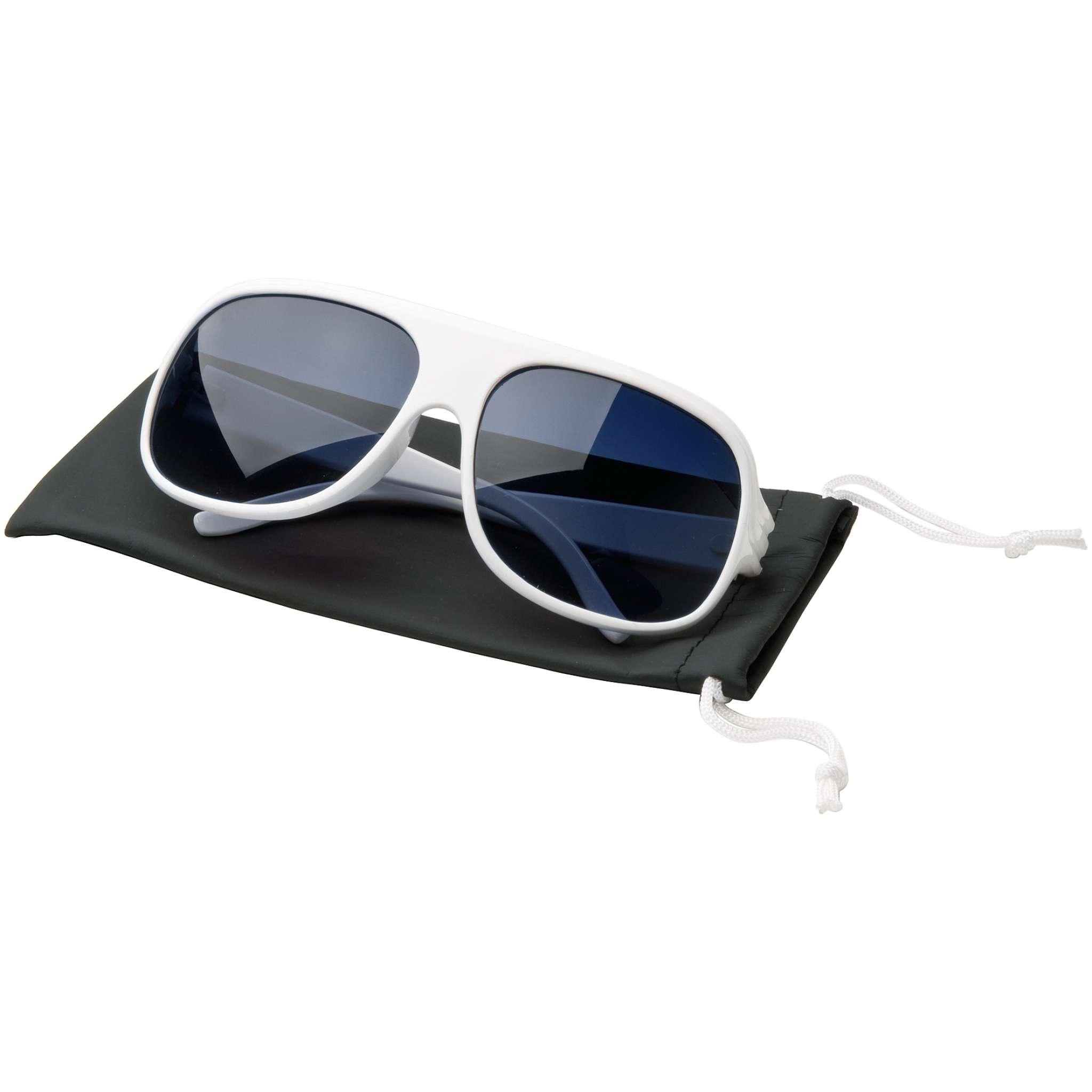 Miami Solglasögon, vita