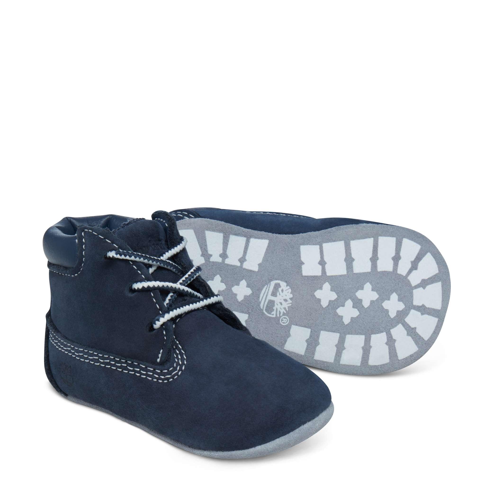 Timberland babyset med sko och mössa, marin