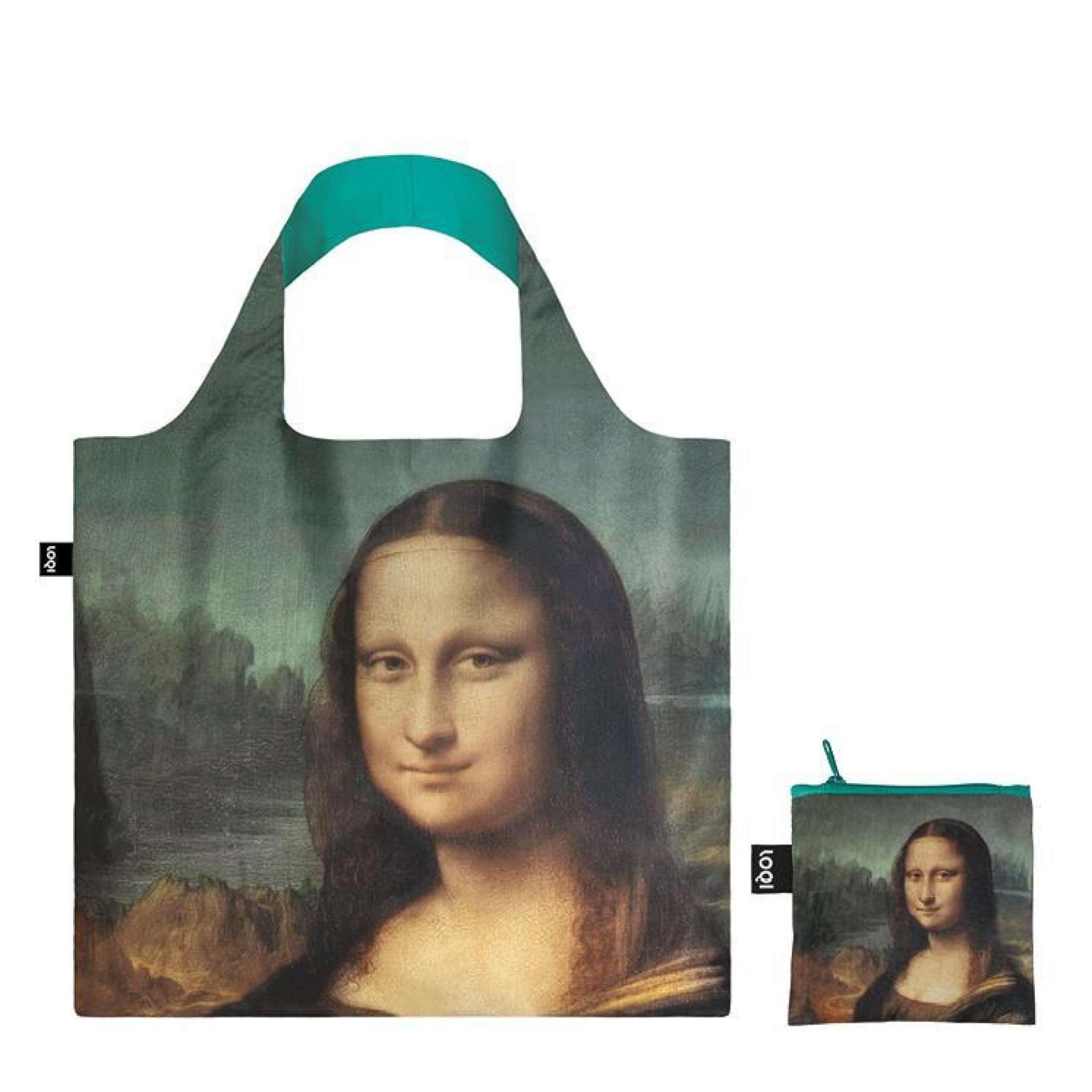 Shoppingbag, Leonardi Da Vinci's Mona Lisa