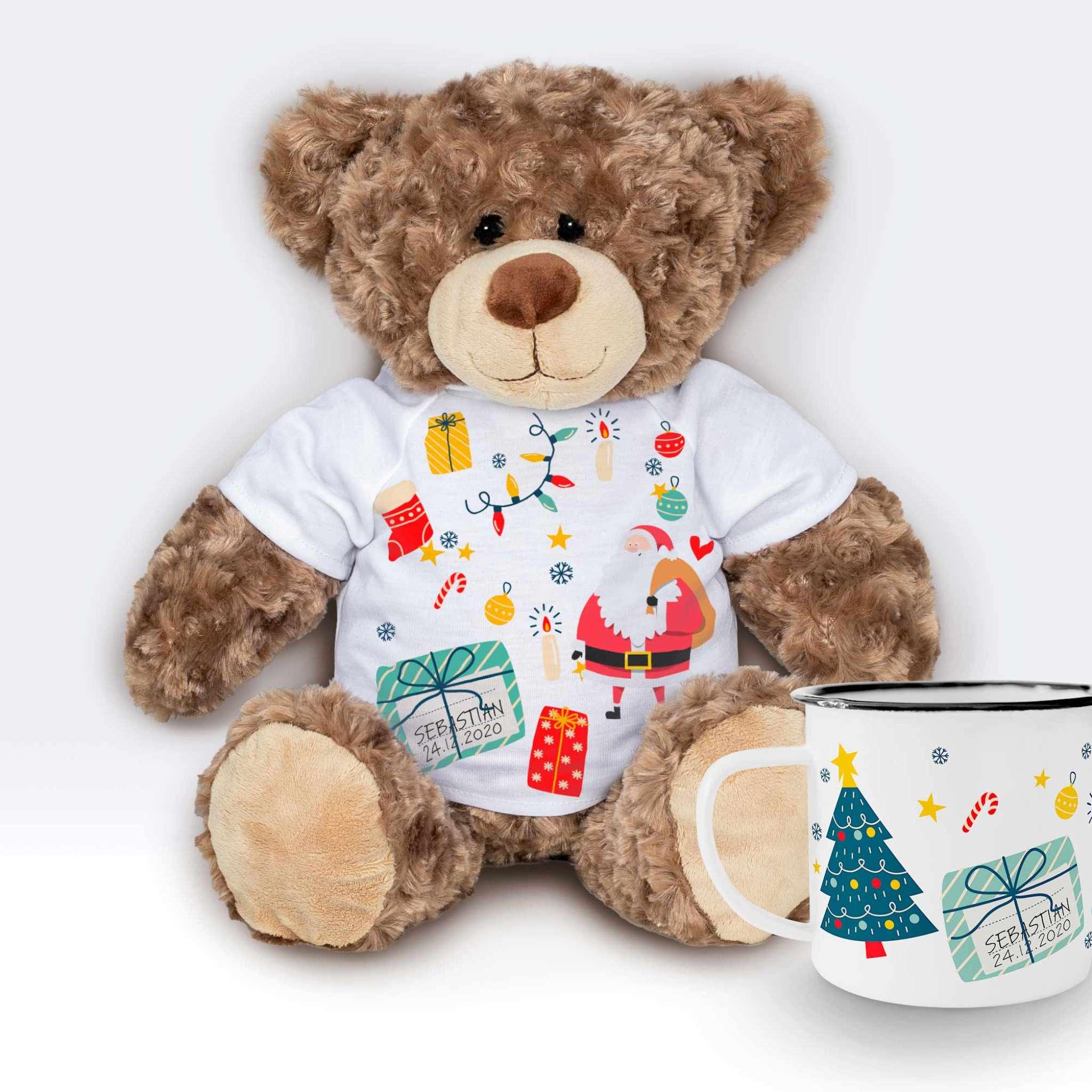 Teddy T-shirt gåvoset Jul