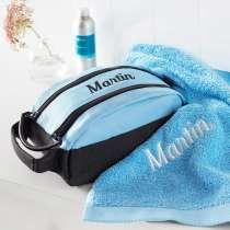 Premium Milano necessär med en matchande Pure exclusive Handduk.
