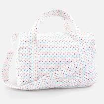 Praktisk väska till allt du behöver för bytet på barnet när du skall bort. 35x27 cm.