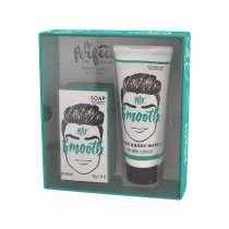 <p>Ett läckert gåvoset till Mr SMOOTH. I gåvosetet ligger en duschgel/schampo och en lyxig tvål med en fantastisk doft av svartpeppar och ingefära. Gör huden mjuk och väldoftande.</p> <p>En perfekt gåva till han som har allt, och som tycker om att lukta gott!</p>