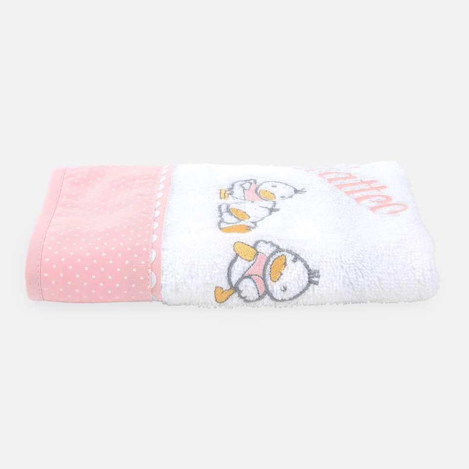 Ducks Pink Handduk 30x50 cm