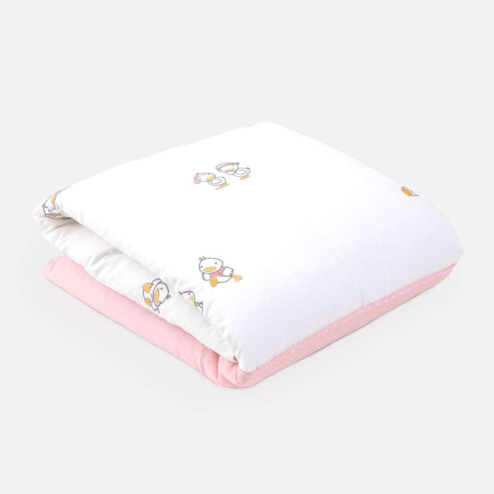 Ducks Pink Sängöverkast