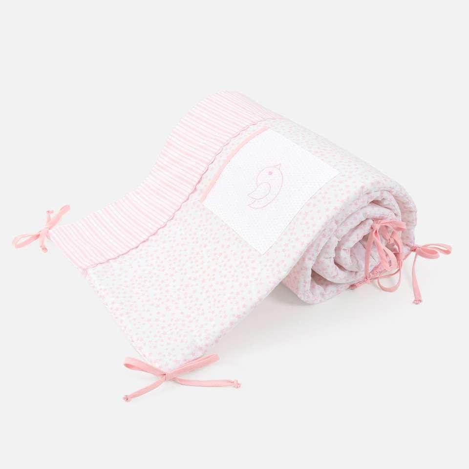 Ballon Pink Spjälsängsskydd