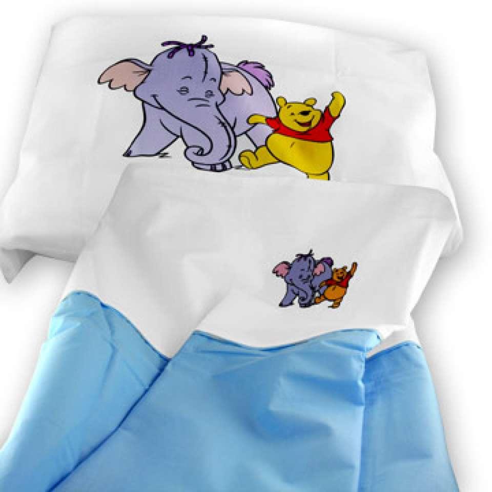 Disney sängsett baby Nalle Puh 80x100 cm