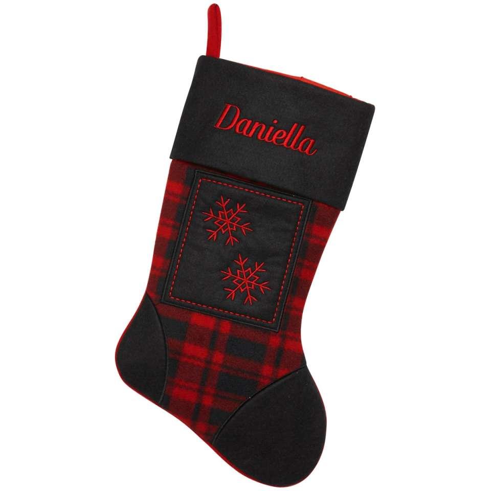Julstrumpa Premium, Skotskrutig