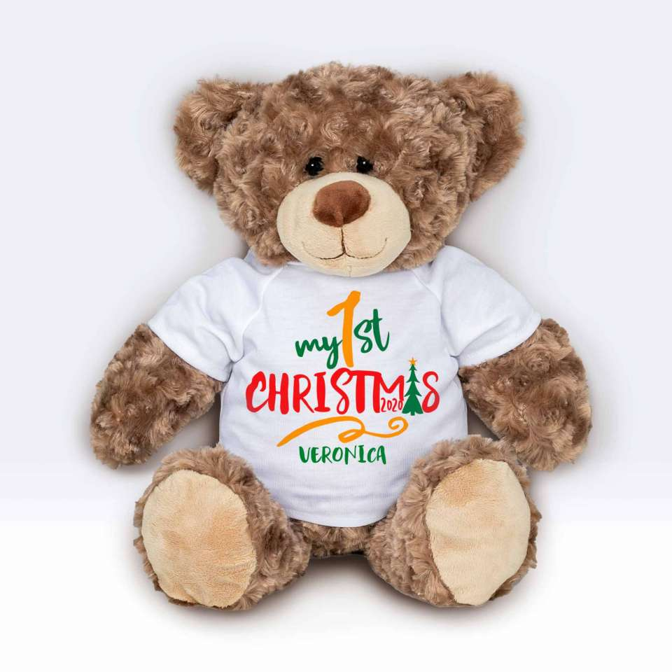 Teddy T-shirt My first Christmas