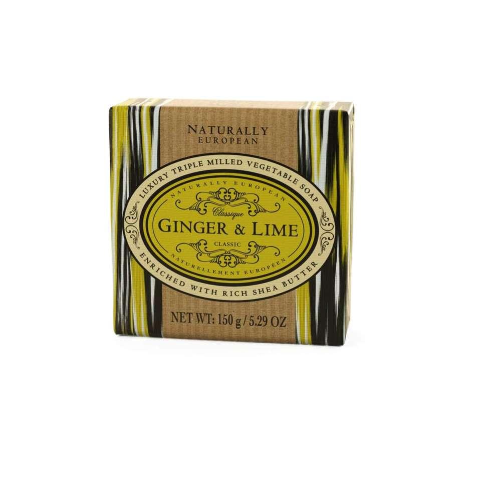 Ginger & Lime Naturally European tvål