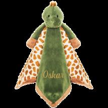 En mjuk och tröstande filt med ett mysig sköldpadda för de allra minsta.