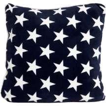 Mjuka, stilrena kuddar till sängen eller soffan med broderat namn eller initialer. Välj mellan 6 olika färger!