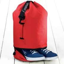 Praktisk väska med eget skofack