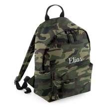 Klassisk ryggsäck med vadderad rygg