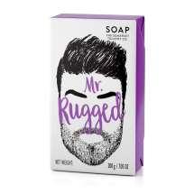 """<p>""""A masculine fragranced Soap bar for your dirty man.""""</p> <p>En härlig tvål speciellt utvecklad för att ta vara på skägget och huden under, utan att torka ut. Tvålen innehåller bland annat sheasmör som är känt för sina återfuktande egenskaper. Efterlämnar både skägg och hud mjuk och väldoftande av cederträ och citrongräs. Tuff förpackning där man kan """"känna"""" på skägget. </p>"""